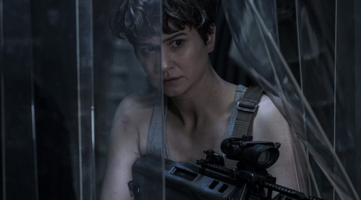 Katherine Waterston en 'Alien Covenant'