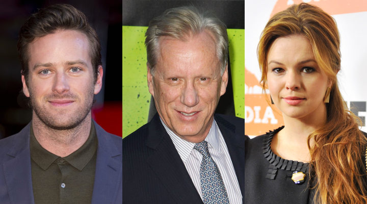 Armie Hammer, James Woods y Amber Tamblyn