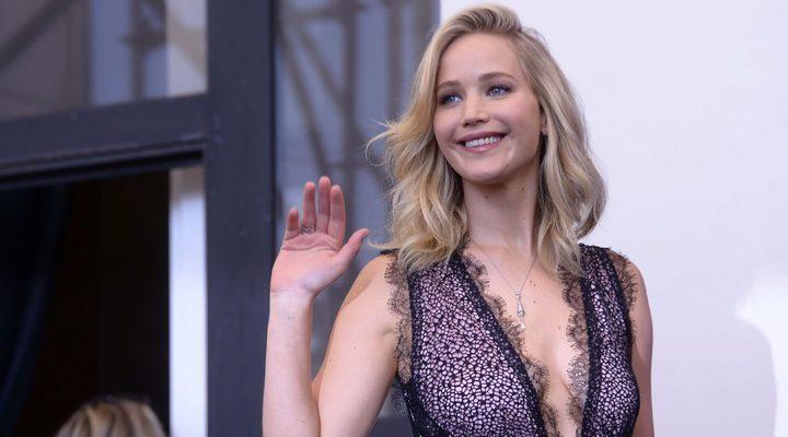 Jennifer Lawrence en la premiere de 'Madre!'