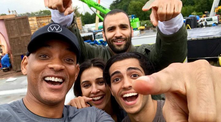 Protagonistas del remake de 'Aladdin'