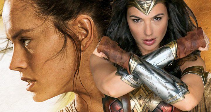 'El Despertar de la Fuerza' vs 'Wonder Woman'