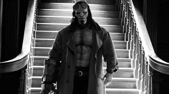 David Harbour como Hellboy