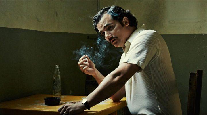 Wagner Moura como Pablo Escobar