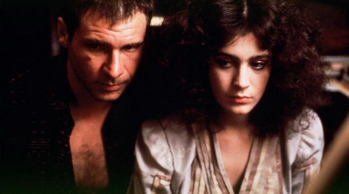Harrison Ford y Sean Young en 'Blade Runner'