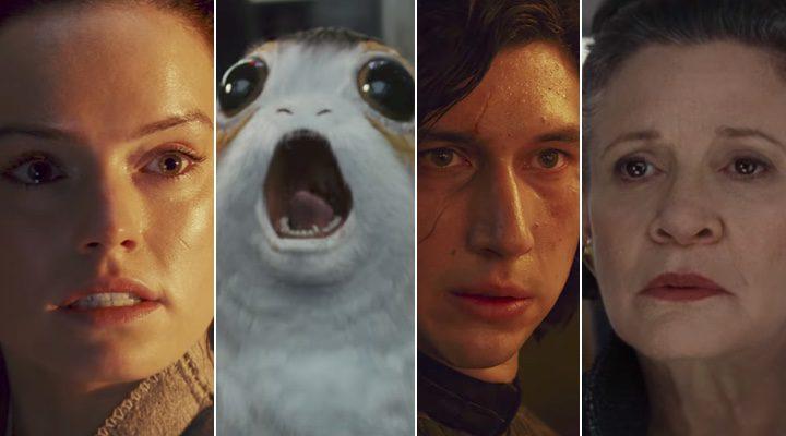 Los instantes más emocionantes del tráiler de 'Star Wars: Los últimos Jedi'