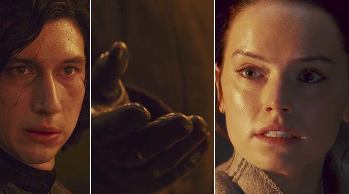Kylo Ren tiende su mano a Rey en el tráiler de 'Star Wars: Los últimos Jedi'