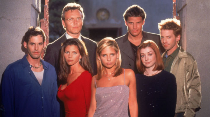 Los scoobies de 'Buffy, cazavampiros'