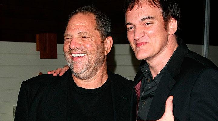 Harvey Weinstein y Quentin Tarantino