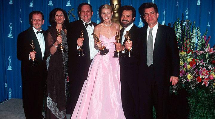 Harvey Weinstein y Gwyneth Paltrow