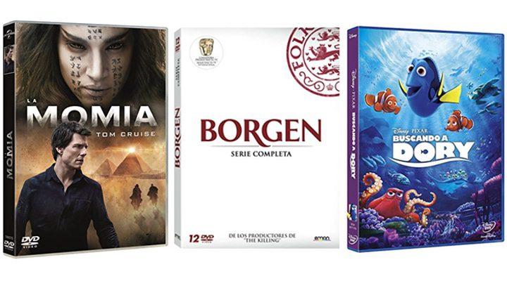 'La Momia', 'Borgen' y 'Buscando a Dory'