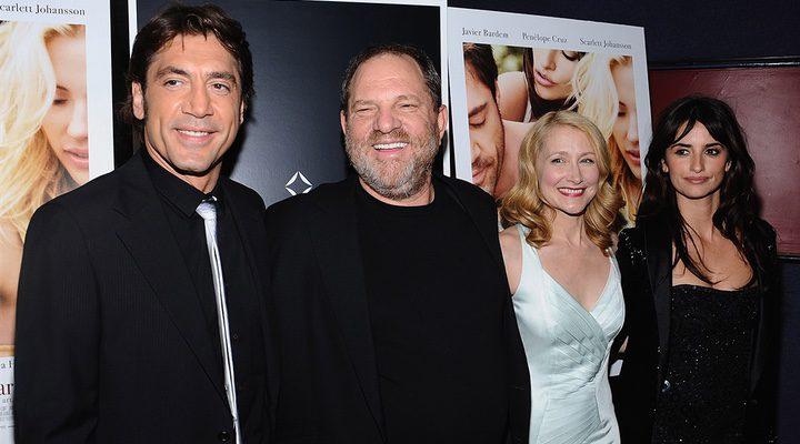 Javier Bardem, Harvey Weinstein, Patricia Clarkson y Penélope Cruz
