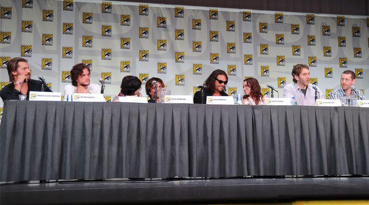 Cast de 'Juego de Tronos' en la Comic Con de San Diego 2011