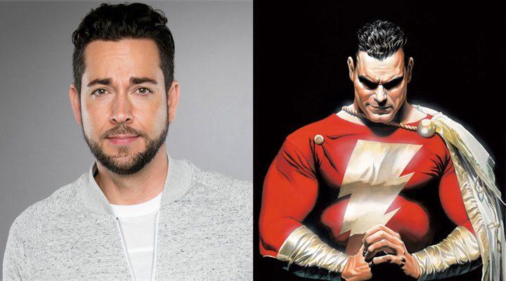 'Zachary Levi se convertirá en Shazam en lo nuevo de DC Comics'