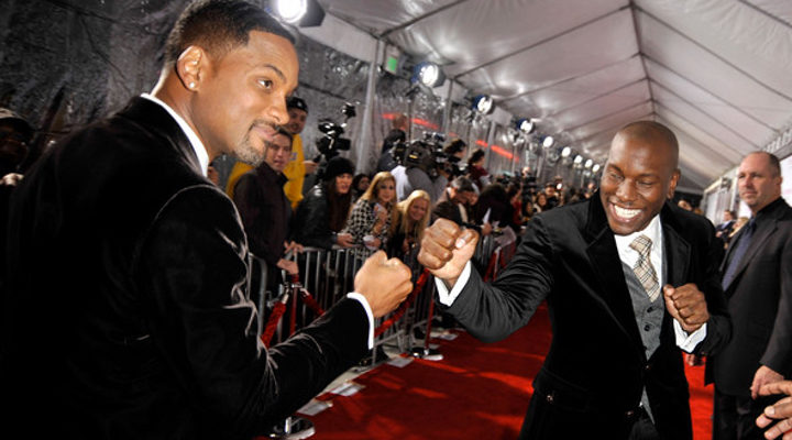 Will Smith y Tyrese Gibson
