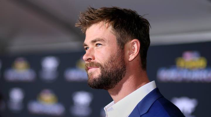 Chris Hemsworth en la premiere de 'Thor: Ragnarok'