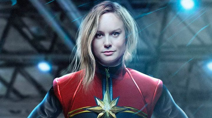 Brie Larson como Captain Marvel