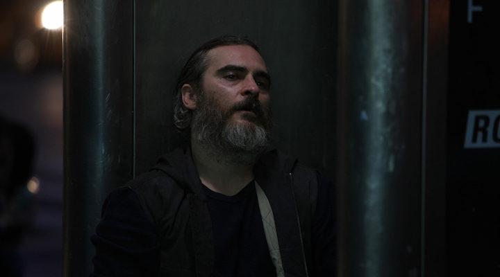 Joaquin Phoenix en 'En realidad, nunca estuviste aquí'
