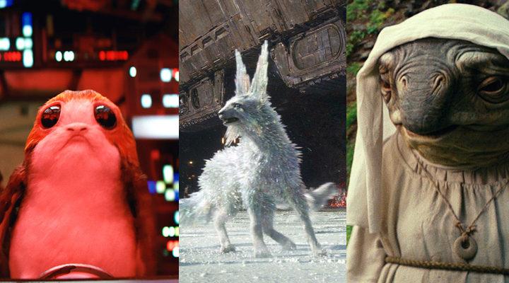 'Porgs, zorros de cristal y caretakers son algunas de las criaturas creadas para 'Star Wars: Los últimos jedi''