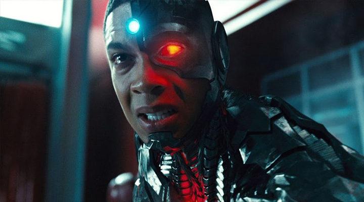 Cyborg en la 'Liga de la Justicia'