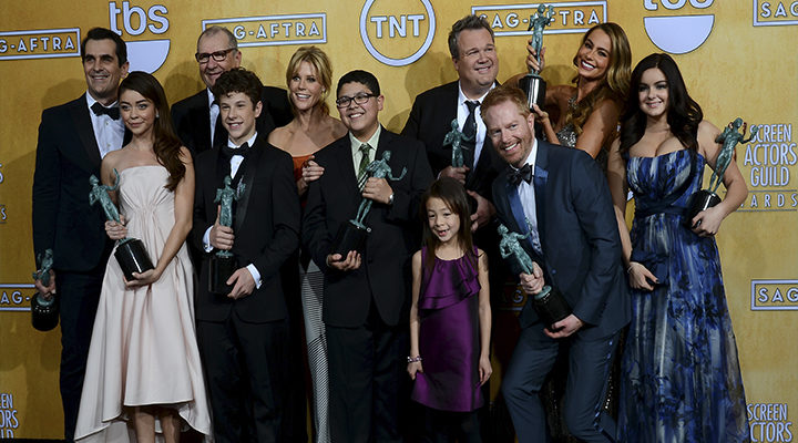 'Modern Family' en los Screen Actors Guild