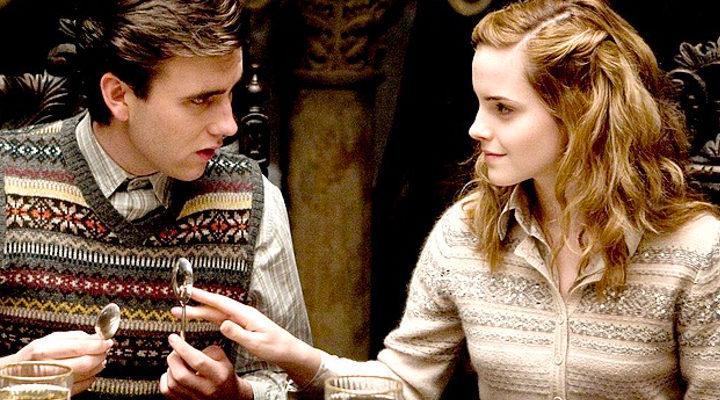 Neville y Hermione en 'Harry Potter'