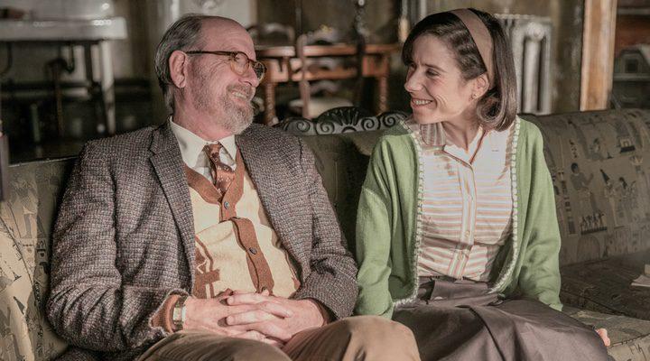 Richard Jenkins y Sally Hawkins en 'La forma del agua'