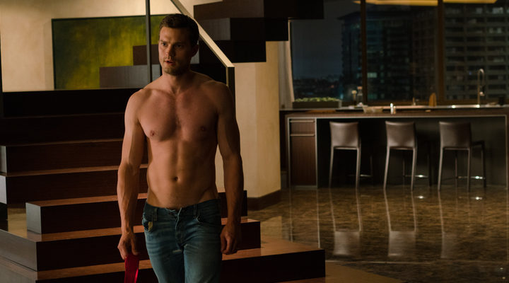 Christian Grey en 'Cincuentas sombras liberadas'