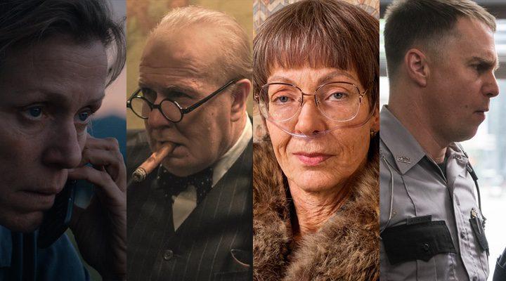 Favoritos para el Oscar 2018