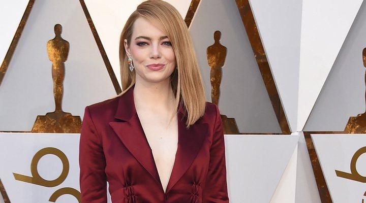 Emma Stone en los Oscar 2018