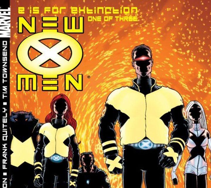 Portada del cómic 'New X-Men'