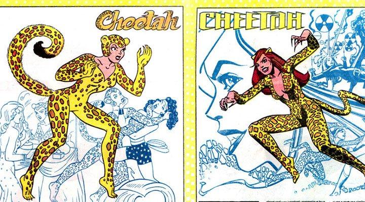 Cheeta y Wonder Woman