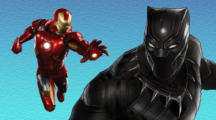 Iron Man y Black Panther