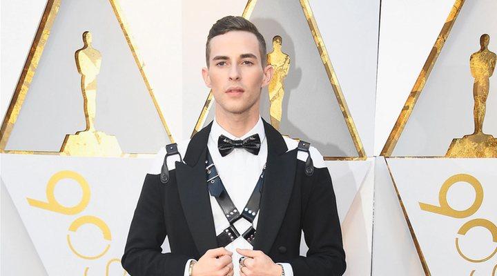 Adam Rippon en la 90º edición de los Oscar