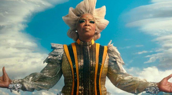 Oprah Winfrey en 'Un pliegue en el tiempo'