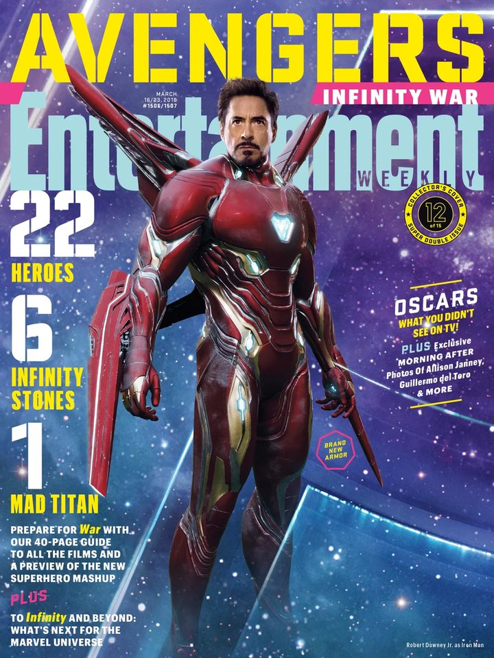 Iron Man y su nueva armadura Bleeding Edge