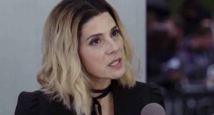 Marisa Tomei en 'La primera purga: La noche de las bestias'