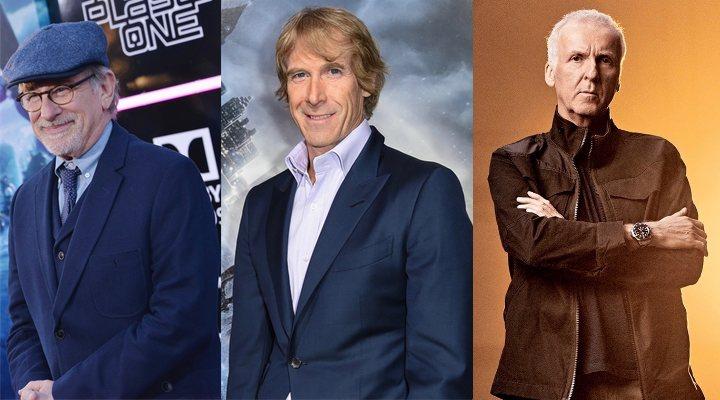Spielberg, Michael Bay, James Cameron