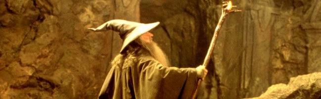 Ian McKellen como Gandalf en El Senor de los Anillos