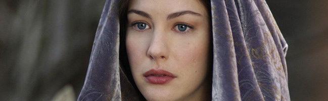 Liv Tyler como Arwen en El Señor de los Anillos