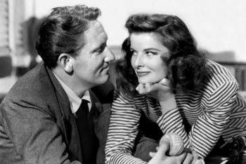 Spencer Tracy y Katharine Hepburn