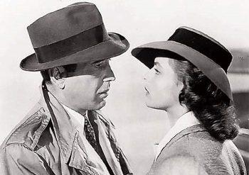 Humphrey Bogart e Ingrid Bergman en 'Casablanca'