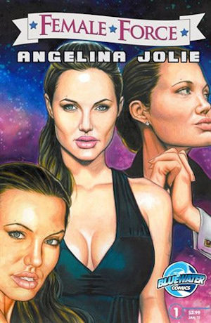 Comic Angelina Jolie