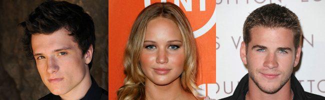 Jennifer Lawrence, Josh Hutcherson y Liam hemsworth protagonizan Los jeugos del hambre