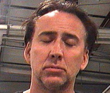 Nicolas Cage por violencia doméstica y alteración del orden público
