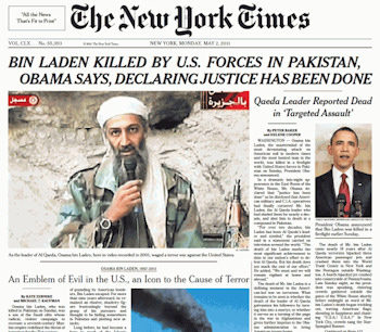 New york times Osama Bin Laden