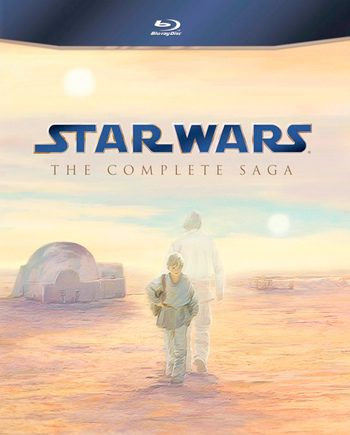 Star Wars Saga Completa en BluRay