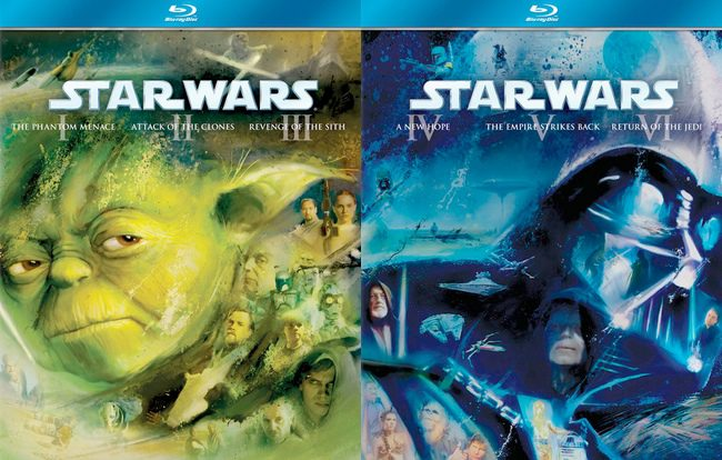 Star Wars Trilogias en BluRay