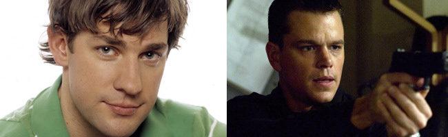 John Krasinski y Matt Damon
