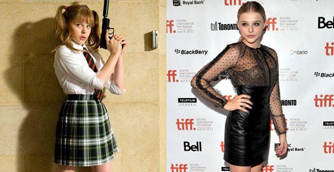 Chloe Moretz en Kick-Ass y en la premiere de Hick en Toronto