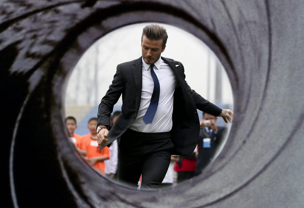 David Beckham, el Bond futbolista